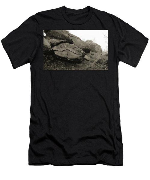 Slaughter Pen At Devils Den Men's T-Shirt (Slim Fit) by Jan W Faul