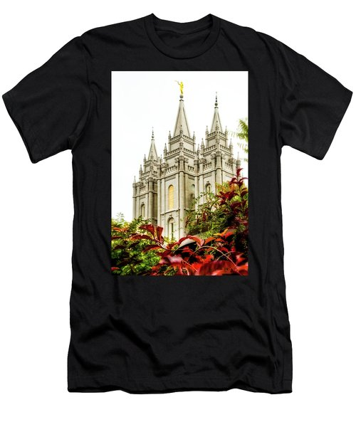 Slc Temple Angle Men's T-Shirt (Athletic Fit)