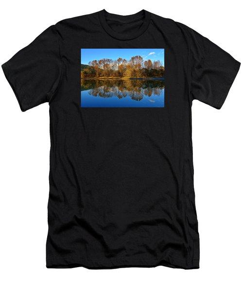 Fraser River Arm  Men's T-Shirt (Athletic Fit)