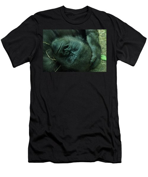 Men's T-Shirt (Slim Fit) featuring the photograph Sleep Tight by Richard Bryce and Family