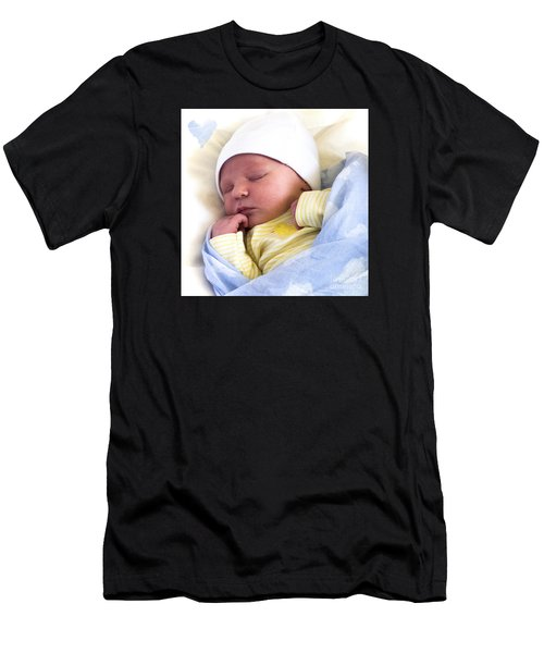 Sleeping Babe Men's T-Shirt (Athletic Fit)
