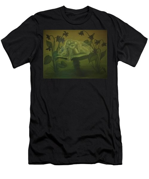 Sleeping Fairy Men's T-Shirt (Athletic Fit)