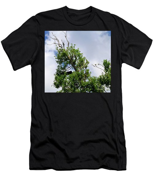 Men's T-Shirt (Athletic Fit) featuring the photograph Sleeping Monkey 2 by Francesca Mackenney