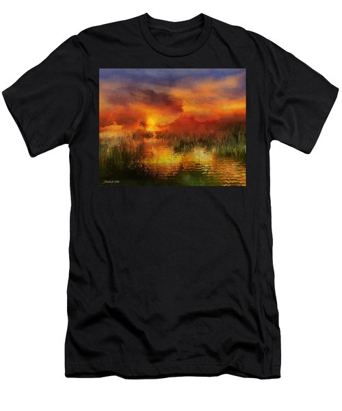 Sleeping Nature II Men's T-Shirt (Athletic Fit)