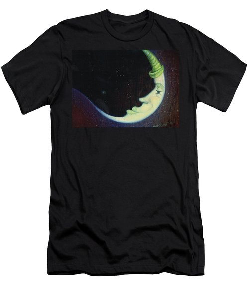 Sleepy Moon's Twin Brother Men's T-Shirt (Athletic Fit)