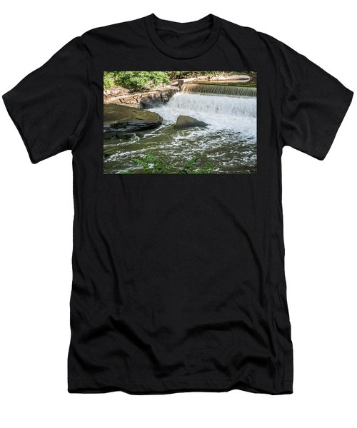 Slippery Rock Gorge -1893 Men's T-Shirt (Athletic Fit)