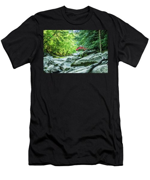 Slippery Rock Gorge - 1908 Men's T-Shirt (Athletic Fit)