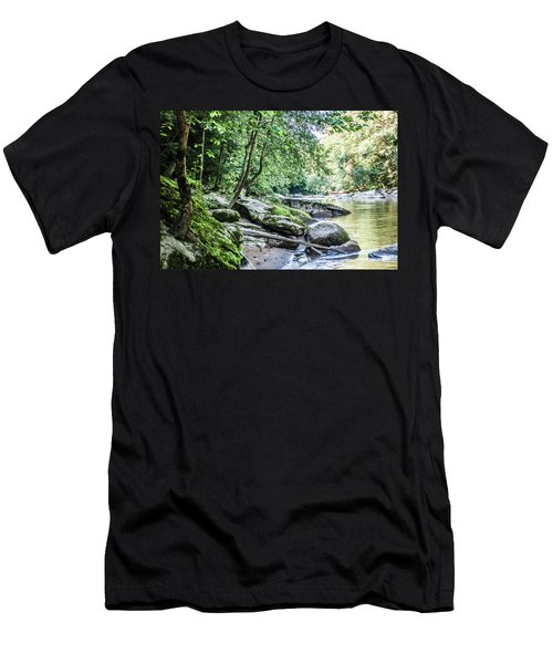 Slippery Rock Gorge - 1912 Men's T-Shirt (Athletic Fit)