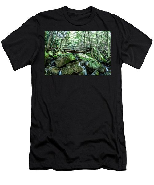 Slippery Rock Gorge - 1930 Men's T-Shirt (Athletic Fit)