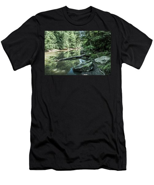 Slippery Rock Gorge - 1944 Men's T-Shirt (Athletic Fit)