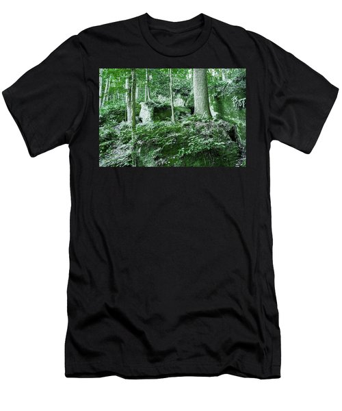 Slippery Rock Gorge - 1902 Men's T-Shirt (Athletic Fit)
