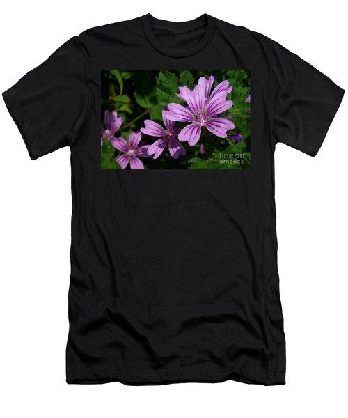 Small Mauve Flowers 6 Men's T-Shirt (Athletic Fit)