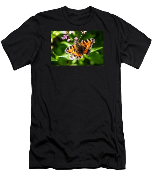 Small Tortoiseshell Men's T-Shirt (Slim Fit) by Martina Fagan