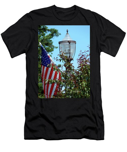 Small Town Anywhere Usa Men's T-Shirt (Athletic Fit)