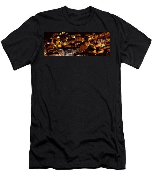 Small Village Men's T-Shirt (Athletic Fit)