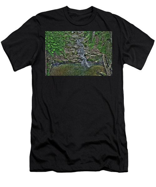 Small Waterfall Men's T-Shirt (Athletic Fit)
