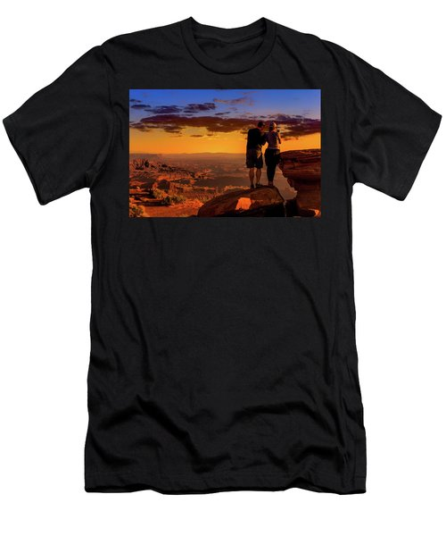 Smartphone Photo Opportunity Men's T-Shirt (Athletic Fit)