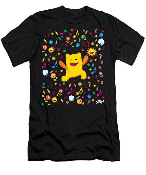 Smile Men's T-Shirt (Athletic Fit)