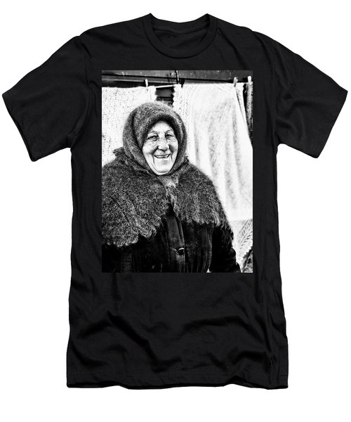 Men's T-Shirt (Athletic Fit) featuring the photograph Smiler by John Williams