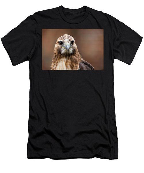 Smiling Bird Of Prey Men's T-Shirt (Athletic Fit)