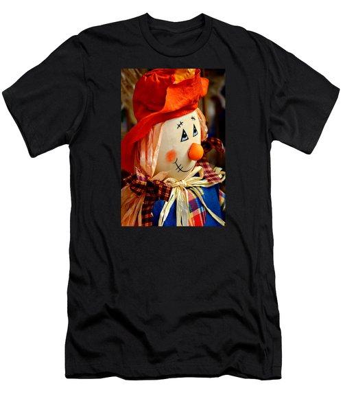 Smiling Face 2 Men's T-Shirt (Slim Fit) by Julie Palencia