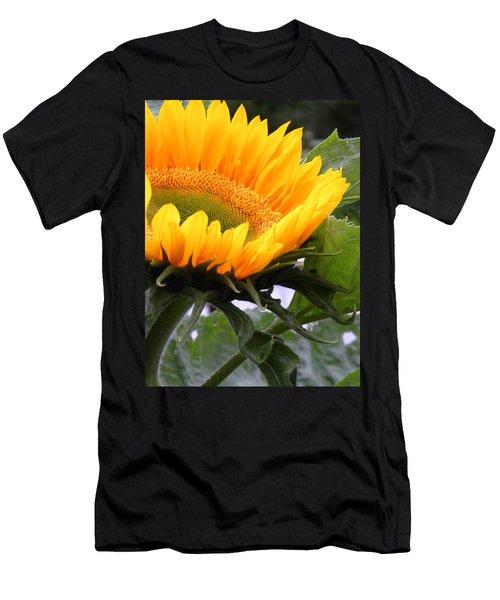 Smiling Flower Men's T-Shirt (Athletic Fit)