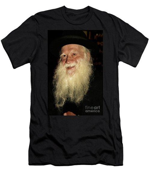 Smiling Picture Of Rabbi Yehuda Zev Segal Men's T-Shirt (Athletic Fit)