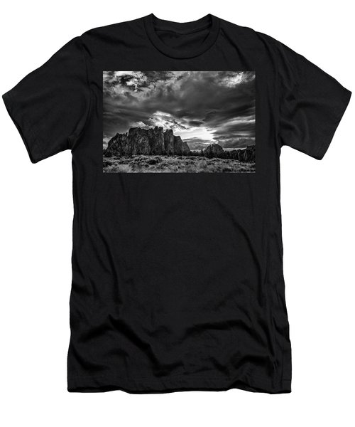 Smith Rock Fury Men's T-Shirt (Athletic Fit)