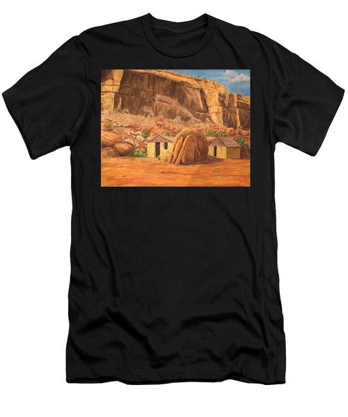 Smiths Cabin  Men's T-Shirt (Athletic Fit)