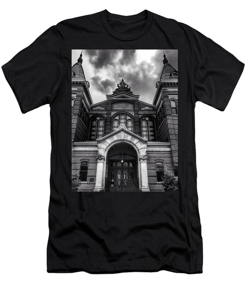 Smithsonian Arts And Industries Building Men's T-Shirt (Athletic Fit)