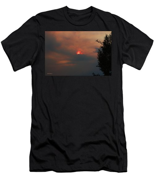 Smoke And Heat Men's T-Shirt (Athletic Fit)