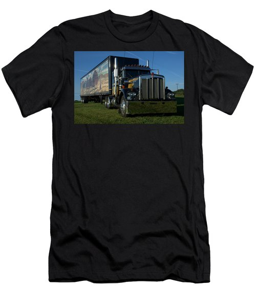 Smokey And The Bandit Tribute Semi Truck Men's T-Shirt (Athletic Fit)