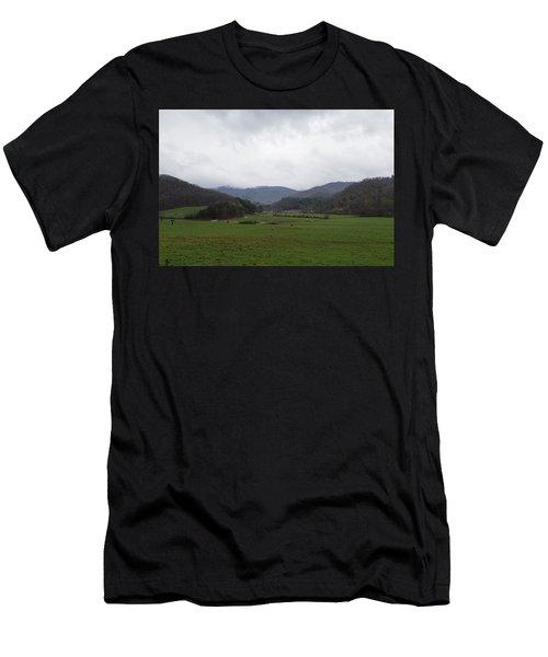 Smokey Mountains 3 Men's T-Shirt (Athletic Fit)