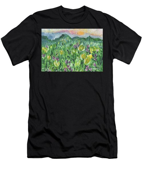 Smoky Mountain Dreamin Men's T-Shirt (Athletic Fit)