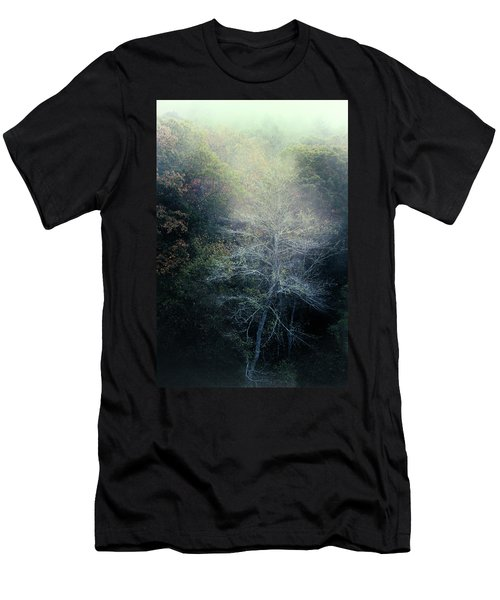 Smoky Mountain Trees Men's T-Shirt (Athletic Fit)