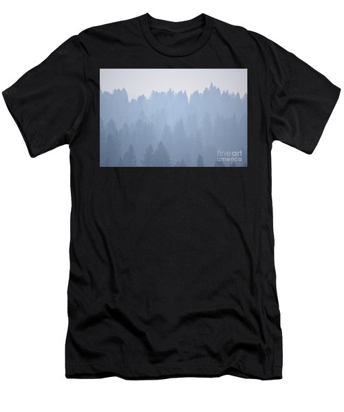 Smoky Pines Men's T-Shirt (Athletic Fit)