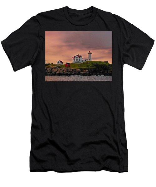 Smoky Skies Men's T-Shirt (Athletic Fit)