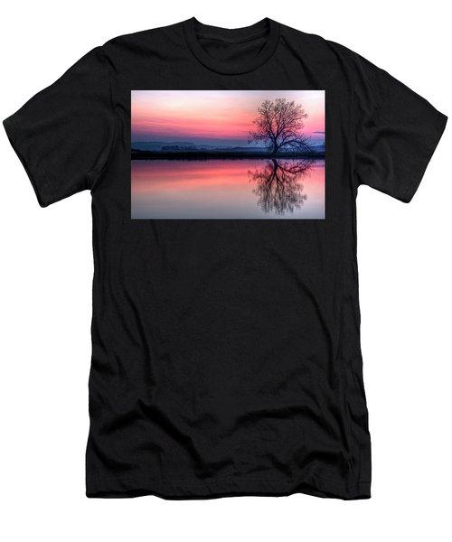 Smoky Sunrise Men's T-Shirt (Athletic Fit)