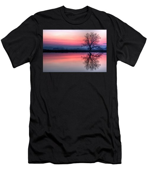 Smoky Sunrise Men's T-Shirt (Athletic Fit)