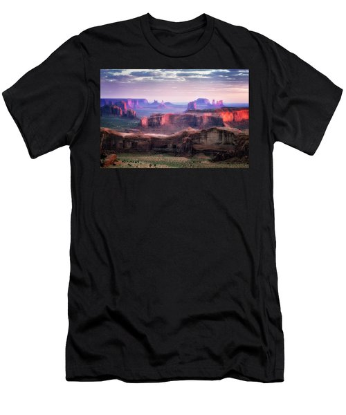 Smooth Sunset Men's T-Shirt (Athletic Fit)