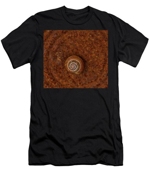 Snail On A Tin Can Men's T-Shirt (Athletic Fit)