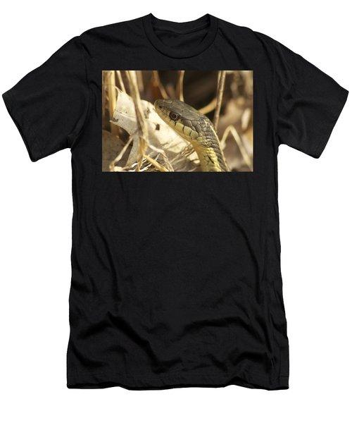 Snake Eye Men's T-Shirt (Athletic Fit)