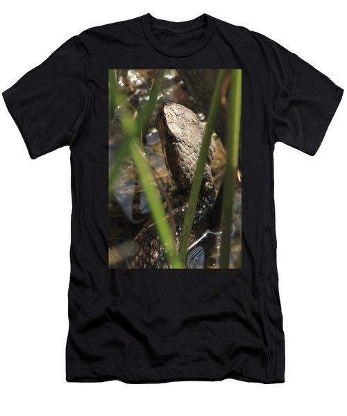 Snake In The Water Men's T-Shirt (Athletic Fit)