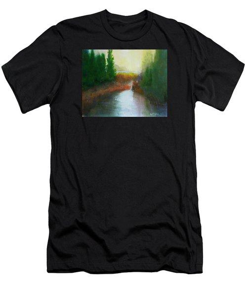 Snake River Canoe Trip Men's T-Shirt (Athletic Fit)