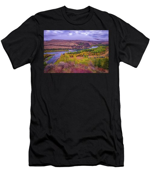 Snake River Fall Beauty  Men's T-Shirt (Athletic Fit)