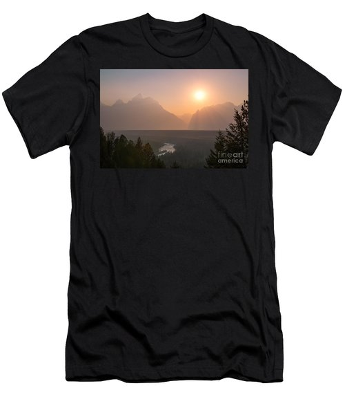 Snake River Sunset  Men's T-Shirt (Athletic Fit)