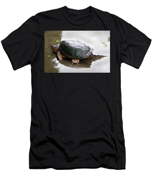 Snapping Turtle Men's T-Shirt (Athletic Fit)