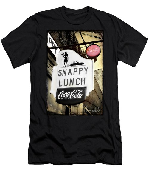 Snappy Lunch Men's T-Shirt (Athletic Fit)