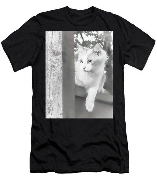 Sneak Peek Men's T-Shirt (Athletic Fit)