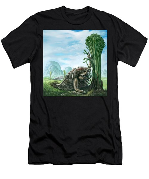 Snelephant Men's T-Shirt (Athletic Fit)